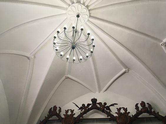 Купол над помещением библиотеки. Фото: Evgenia Shveda