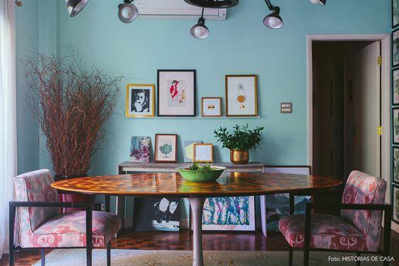 21-decoracao-sala-jantar-molduras-quadros-suculentas