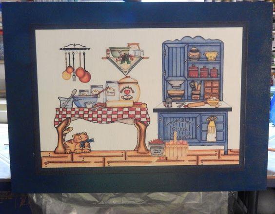 Arte em Casa por Rita Candeu: Caixa Porta Bobinas G