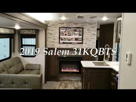 2019 5 Forest River Salem 31kqbts Travel Trailer At Couch S Rv