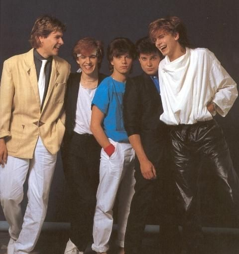 Duran Duran - I love John's shirt in this: