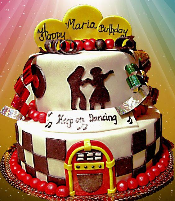 50's theme cake ― House of Cakes Dubai