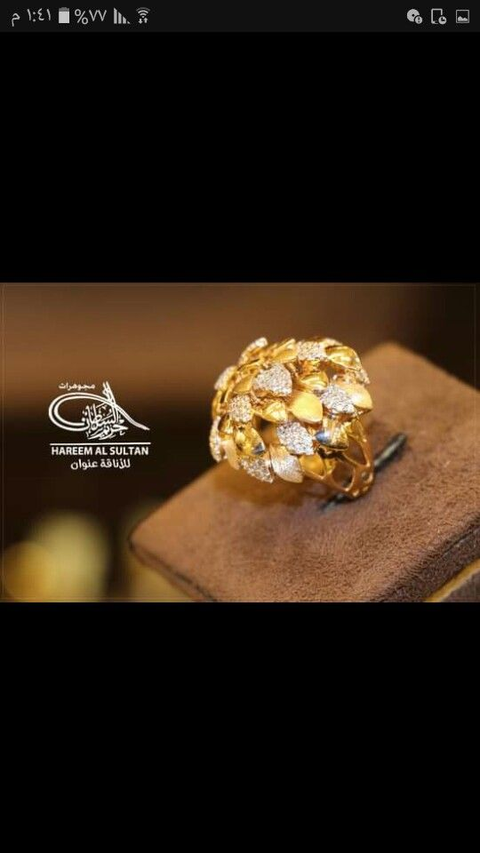Pin By Garima Lal On خواتم ذهب فيس Gold Jewellery Design Embellished Wedding Shoes Gold Jewelry