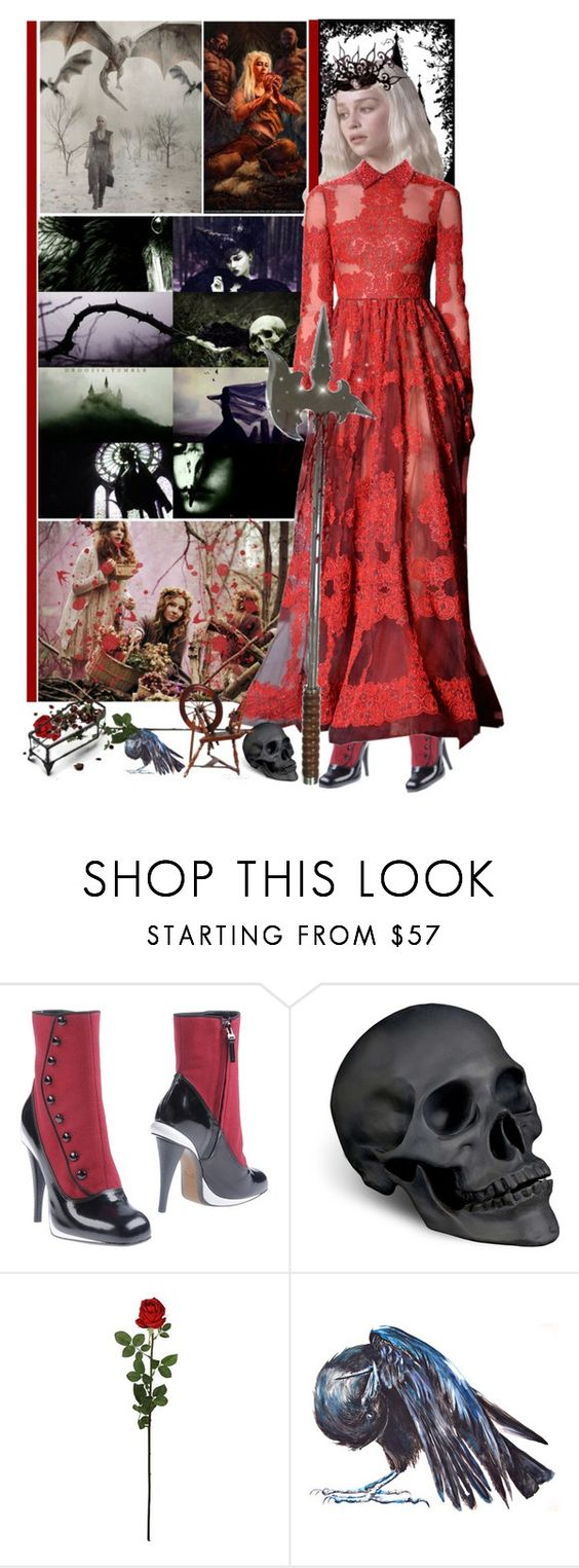 """""""Battle Of The Sisters Grimm - Round 7: Dark Retelling"""" by fashionqueen76 ❤ liked on Polyvore featuring Fendi, L'Objet, Laura Cole and BOTSG03"""