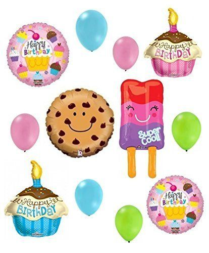 Shopkins Happy Birthday Balloon Decoration Kit Anagram