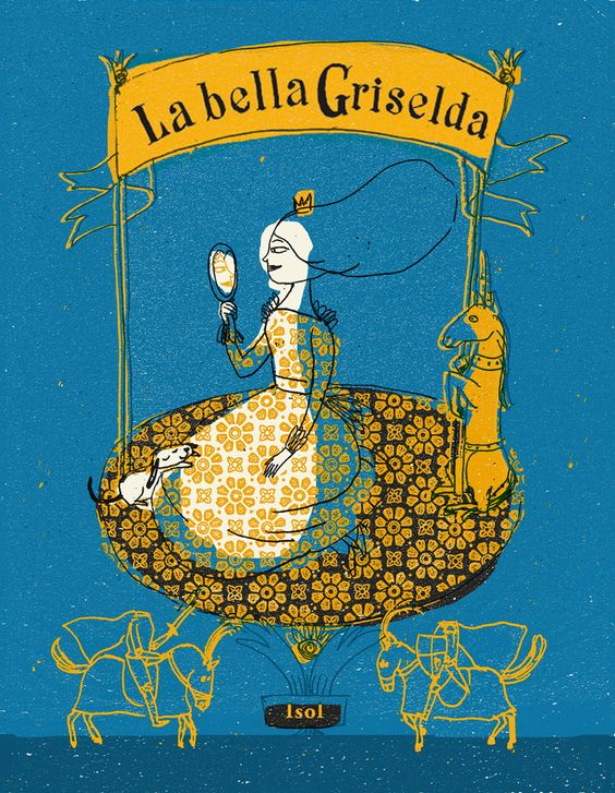 Front cover for 'La bella Griselda / Beautiful Griselda' by Isol – published by Fondo de Cultura Económica