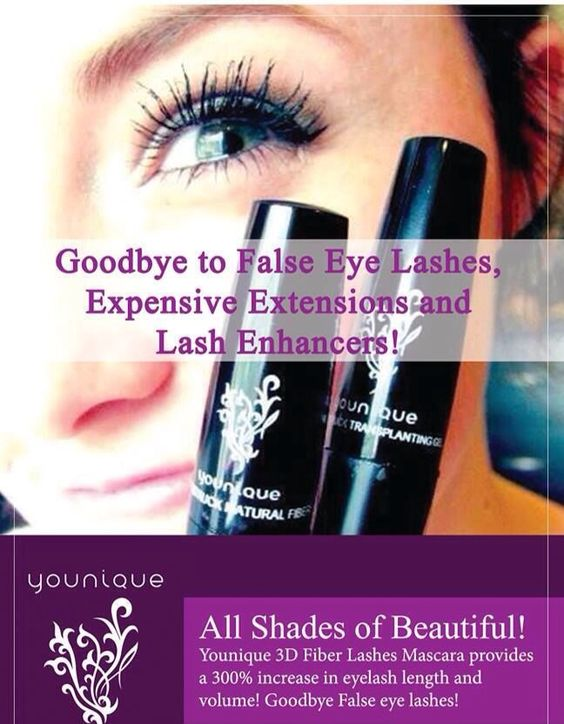 Younique's 3D Fiber Lash Mascara gives you the dramatic look of lash extensions in 3 min without the expense!! www.youniqueproducts.com/bebeautifulbeyou