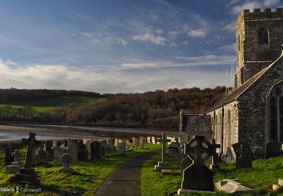St Winnow Churchyard, near Lerryn, Cornwall