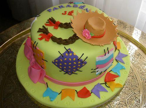 Decoração para festa junina: