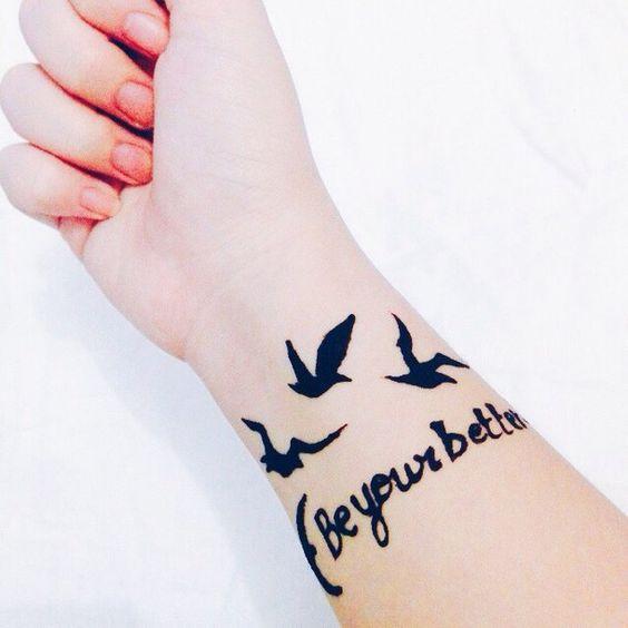 Mehndi Bride Quotes : Better birds couple goals hands henna love quotes