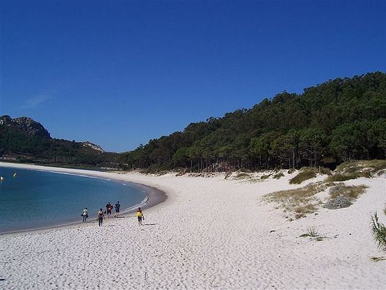 Islas Cíes, el paraíso gallego. http://www.hotelpuertadelsol.es/es/islas-cies-galicia