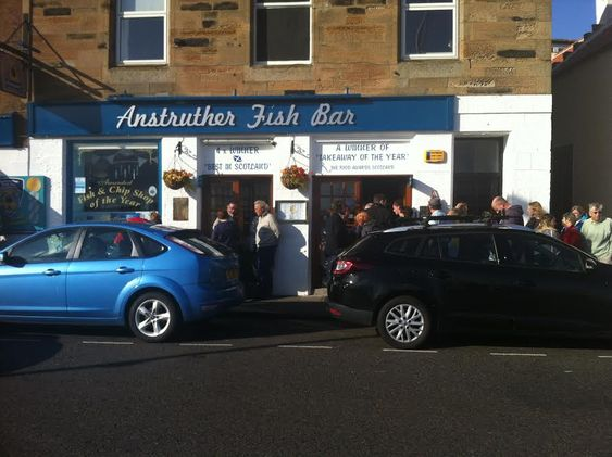 Anstruther famous fish bar