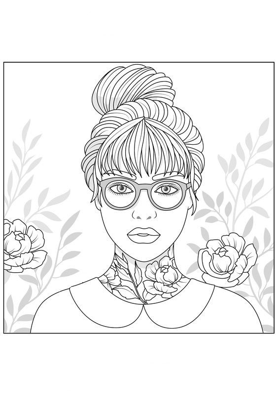 Omeletozeu Cool Coloring Pages Color Therapy Cute Coloring Pages