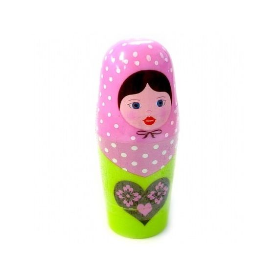 Russian Doll Lip Balm (475 RSD) ❤ liked on Polyvore featuring beauty products, skincare, lip care and lip treatments