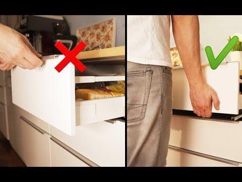 Ikea Kuche Schublade Ausbauen Und Einsetzen Ikea Maximera Youtube Ikea Kuche Kuche Kuchenschrank