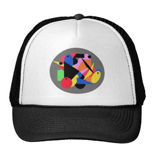 Sombrero,abstracto Gorras De Camionero