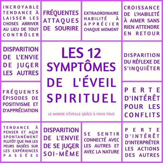 Les 12 symptômes de l'éveil spirituel: