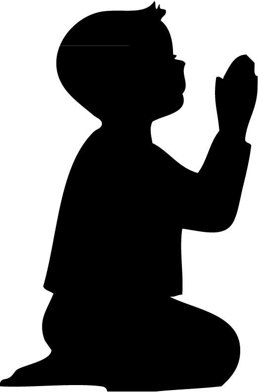 Praying Hands Silhouettes Template silhouette , boys and google search ...