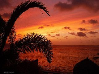 Bonaire Colorful Sunset | by goinformed.net