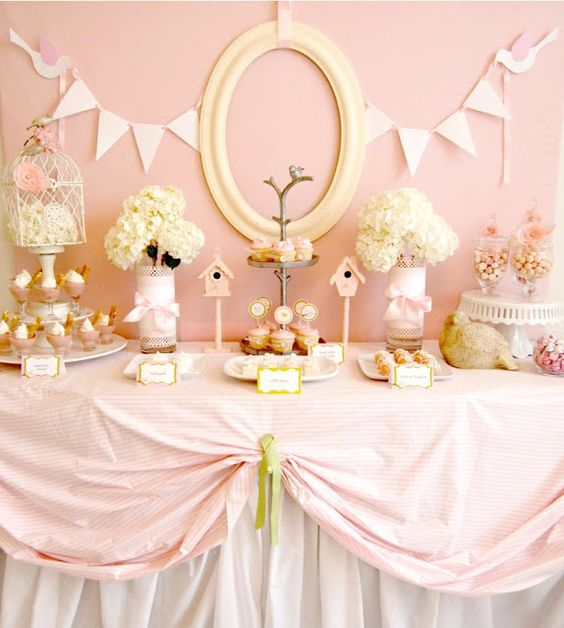 Pink Birdie Baby Shower — Celebrations at Home