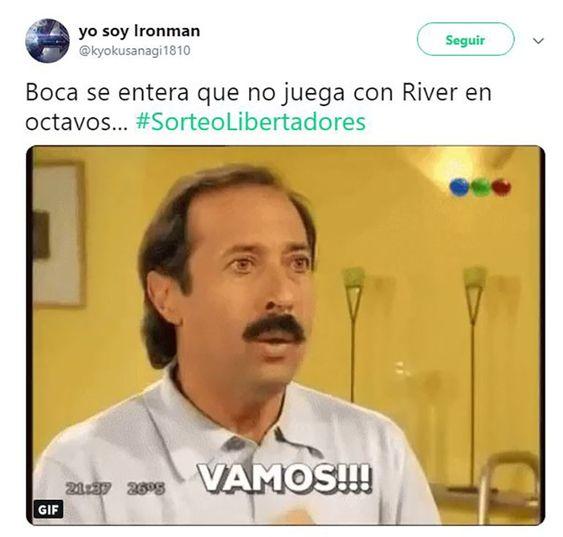 Los Memes Del Sorteo De La Libertadores El Alivio De Angelici Las Burlas De River A Boca Y El Rival De San Lo Memes Para Boca Memes Imagenes De River Plate