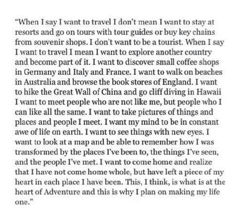 Truth about Travel <3