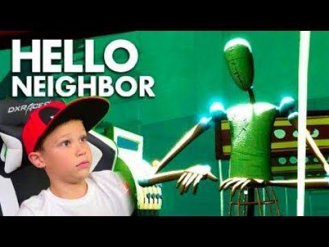 Mister Maks Plej Sosed Youtube Dxracer Hello Neighbor Instagram