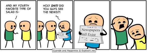 jornais ainda existem!!!