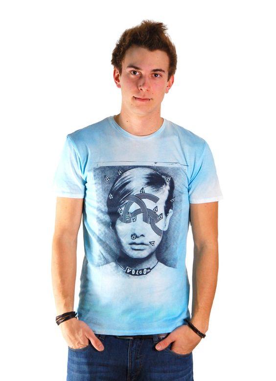VOLCOM FIGGS T-SHIRT LIGHT BLUE www.fourseasonsclothing.de  #volcom #style #art #shirt #t-shirt