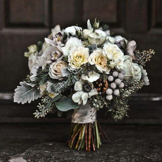 Bouquet sposa per l'inverno