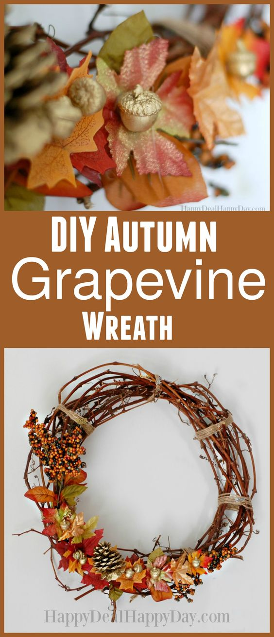http://happydealhappyday.com/grapevine-wreaths-how-to-make-an-autumn-grapevine-wreath/