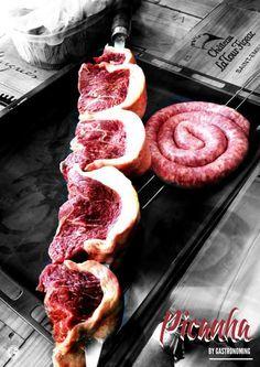 receta de como preparar picanha o picaña, como cortarla y saber identificar de que lado es, a la parrilla con sal marina, la picanha es una carne deliciosa