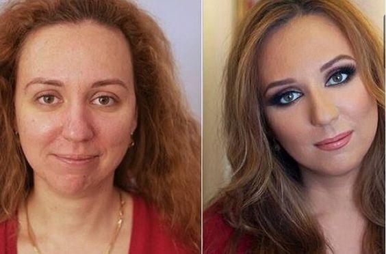 O poder da maquiagem !
