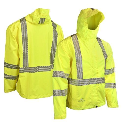 Radians Rw11 Class 3 Lightweight Ripstop Rain Jacket Rain Jacket Ripstop Jackets