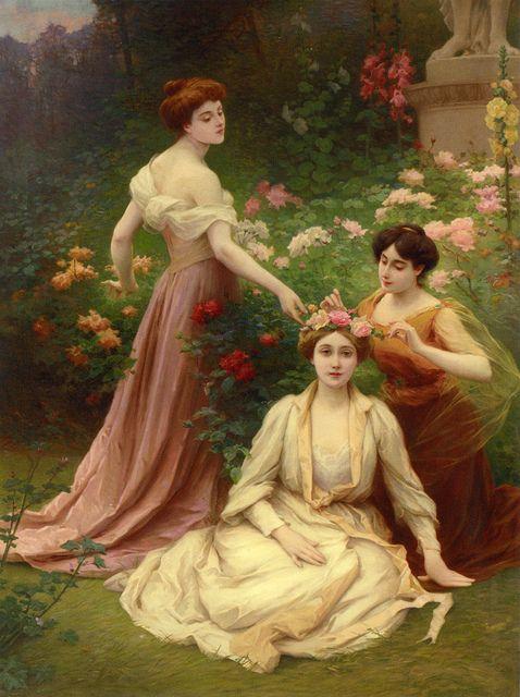 Jules Scalbert  The crown of roses