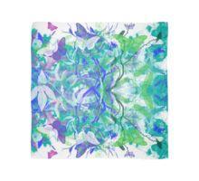 Butterfly Garden - Green & Blue Scarf