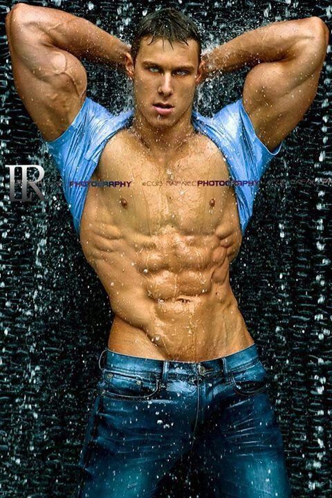 Aaron Shumake, male fitness model | © Luis Rafael ► www.facebook.com/luisrafael4photos