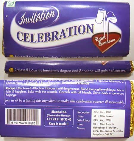 Convite doce!