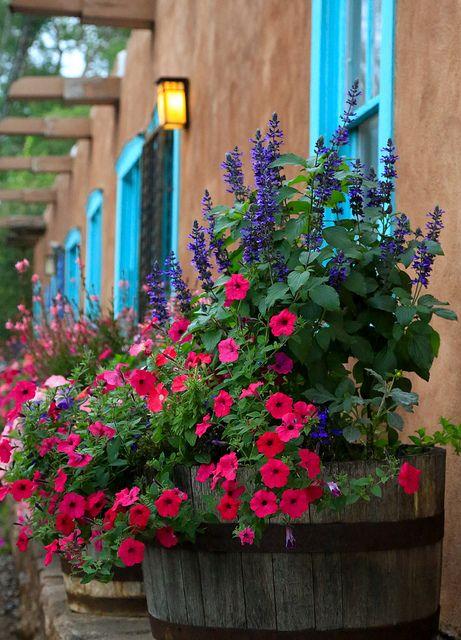 Santa Fe, New Mexico ... along Canyon Road