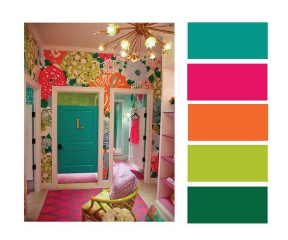 Kids Room Color Schemes: Color Palettes, Colors And Colour Palettes On Pinterest