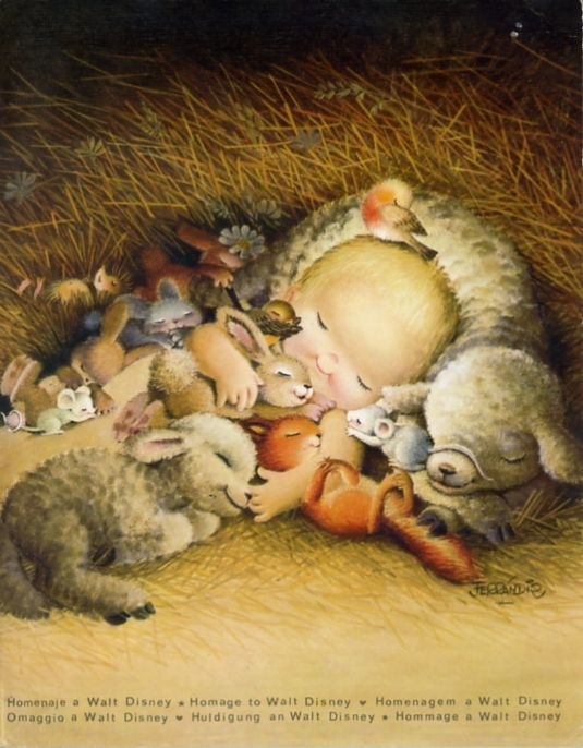 Juan Ferrándiz - sleep baby Jesus.:
