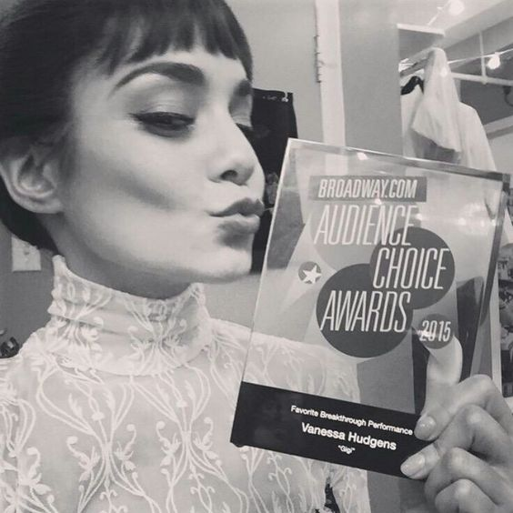 SHE DESERVED THIS AWARD AND I'M SO PROUD OF HER