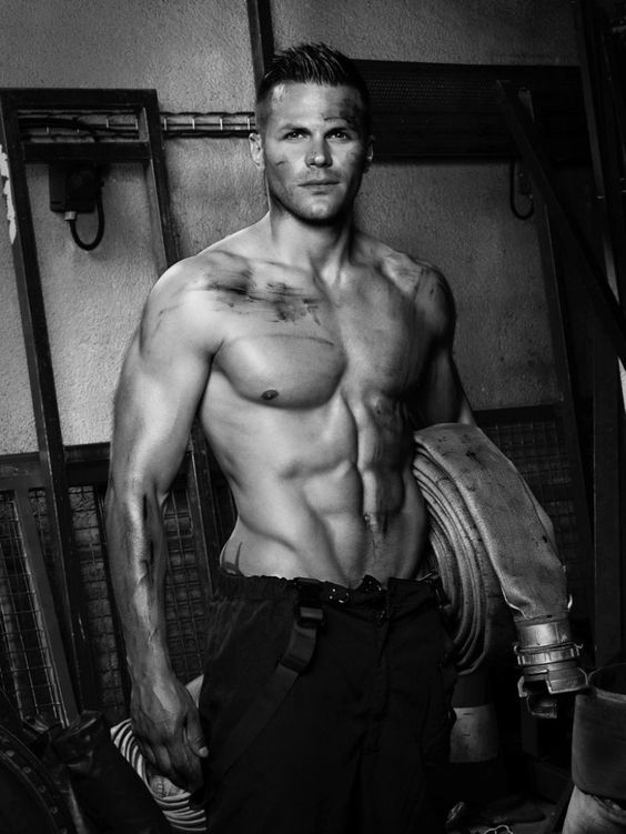 Fred Goudon firefighter firemen sexy sensual9