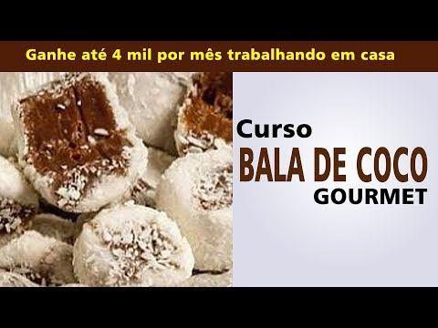 Curso Balas De Coco Gourmet Como Fazer Bala De Coco Que Derrete