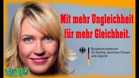 Manuela Schwesig - Anti-Antidiskriminierung ftw!