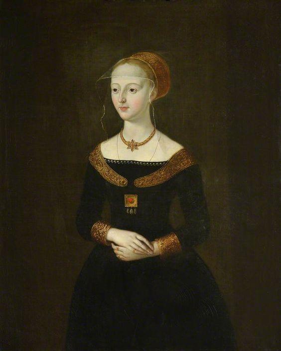 The Athenaeum - Elizabeth Woodville, Wife of Edward IV (Thomas Hudson - )