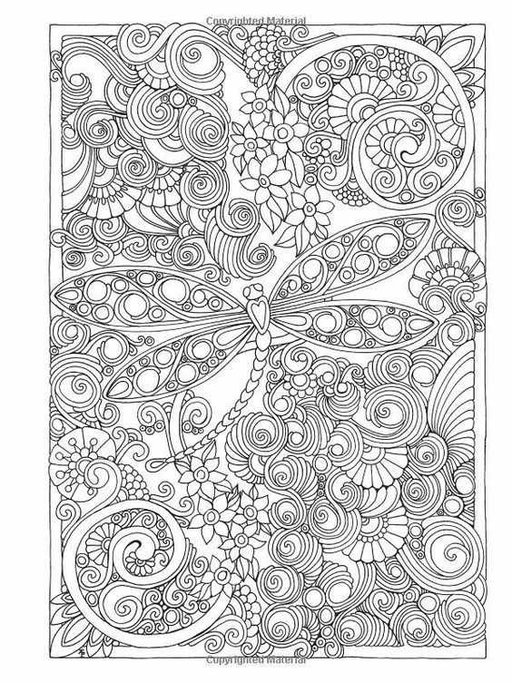Dragonfly Coloring Pages Mandala Coloring Pages Coloring Books