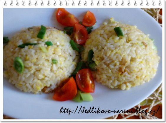 Jedlíkovo vaření: Rychlá smažená rýže