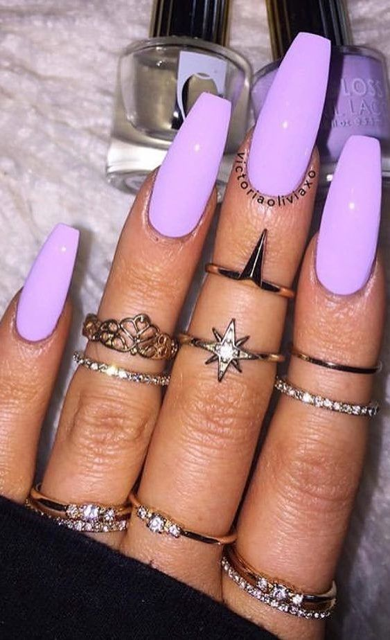38 Creative And Newest Acrylic Nails Designs For This Year Part 7 Purple Acrylic Nails Bright Acrylic Nails Acrylic Nail Designs