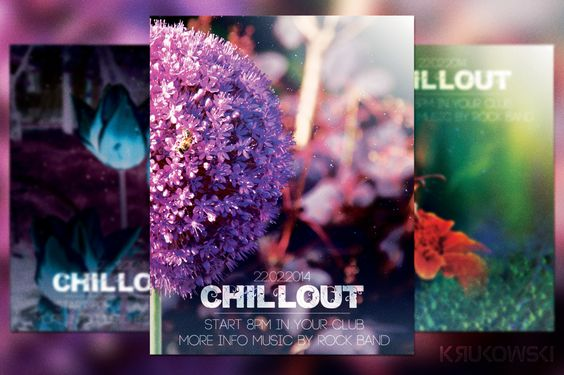 Chillout Flyer by Krukowski on Creative Market